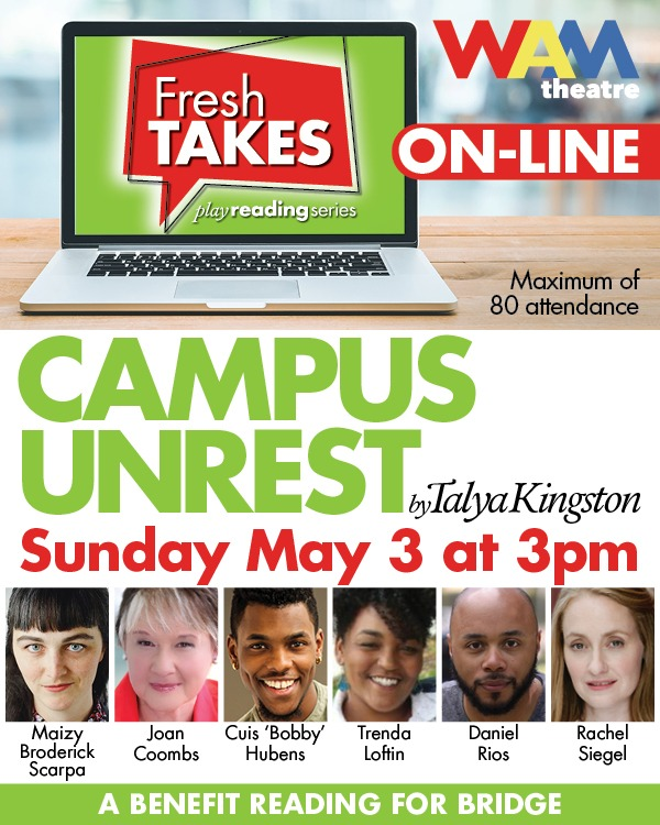 Online Reading of CAMPUS UNREST for a Cause